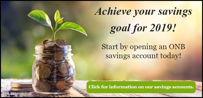 ONB Savings Accounts
