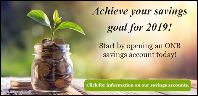 ONB Savings Accounts